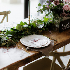 Head Table - The Big Fake Wedding 2019
