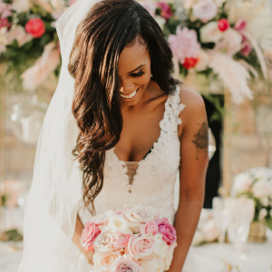 Bridal Bouquet - Gold and Gilded Styled Shoot 2020