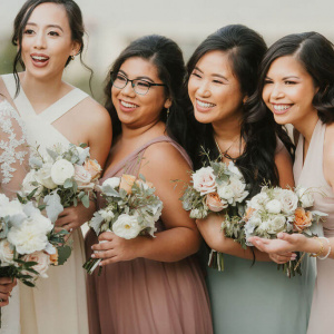 Bridesmaid Bouquets - Keisha and Rae