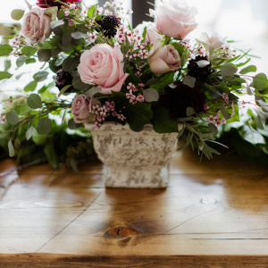 Head Table Focal Centerpiece - The Big Fake Wedding 2019