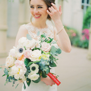 Bridal Bouquet - Alexandria and Jordan