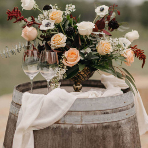 The Vine Styled Shoot - Compote Arrangement