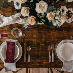 The Vine Styled Shoot - Head Table