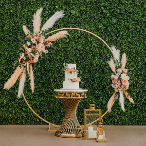 Hoop Backdrop - Gold and Gilded Styled Shoot 2020