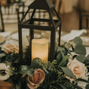 Lantern Centerpiece - Madeleine and Connor