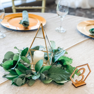 Geometric Terrarium Centerpiece - Noelle and Sean