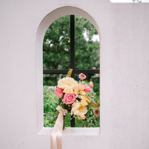Bridal Bouquet - Brides of Houston Feverfew Styled Shoot