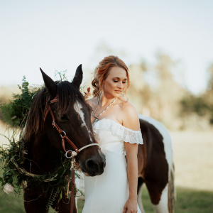Barn at Willowynn Styled Shoot- Horse Halo