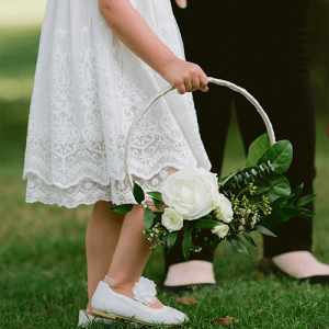 Flower Girl Hoop - Taylor and Austin