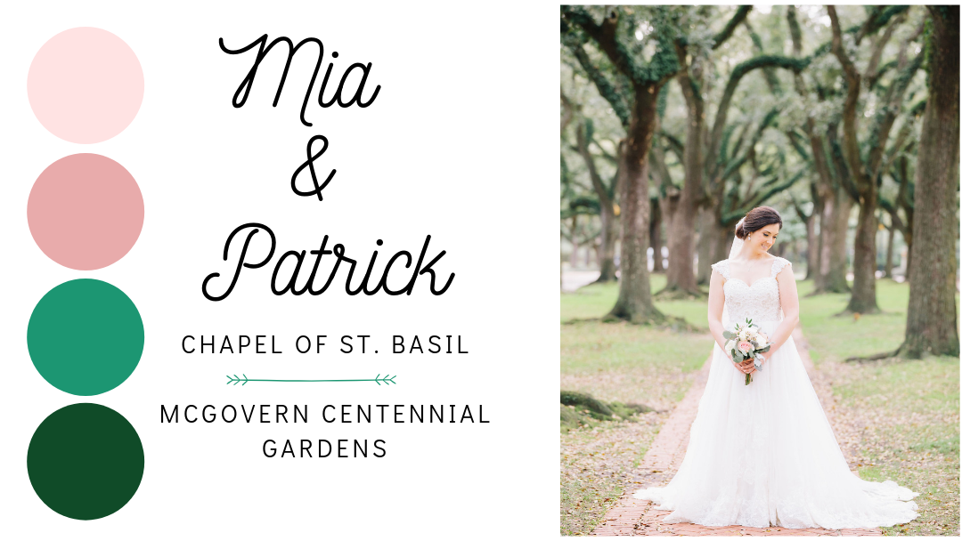 Weddings: Mia and Patrick