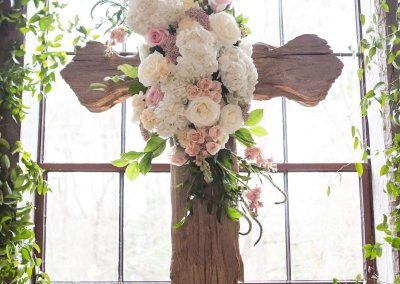 Wedding Floral Cross The Tallest Tulip Houston