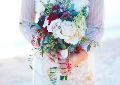 beautiful blooming bouquet