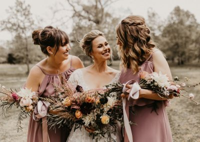 Blush and burgundy bridal bouquet the tallest tulip houston wedding florist
